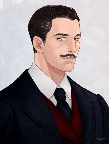 Portrait Milton Hoover