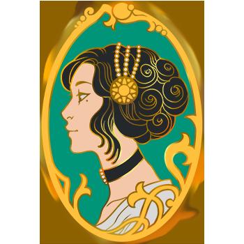 Pins - Camée Lady Eleanor