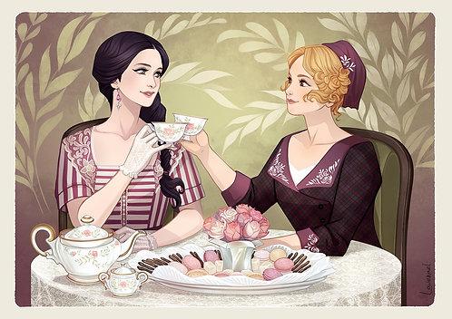 Ex-Libris - Tea Time