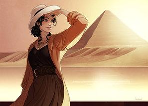 Ex-Libris - Sur le Nil