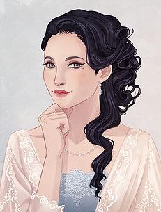 Portrait Lady Eleanor Grant