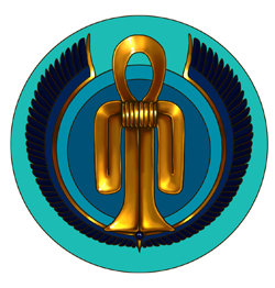 Badge Noeud d'Isis