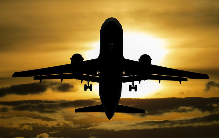 Voando para Cidade do Cabo