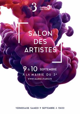 Gaelle Dechery au Salon des Artistes !