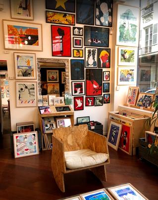 Slow Galerie, histoire de rêve.
