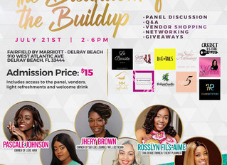 """I'm speaking at the """"Breakdown for the Buildup"""" Event in Delray Beach"""