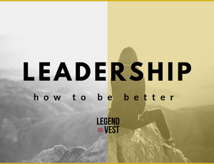 Leadership how to be better