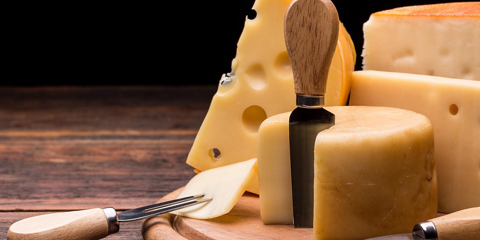 Refine your Palate Cheese Tasting