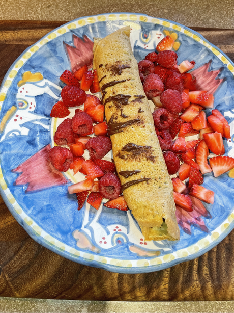 The best healthy breakfast crepes!