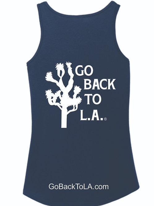 Womens Go Back To L.A. Tank Top