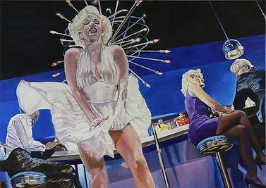 hot air 100 x 140 cm oil on canvas