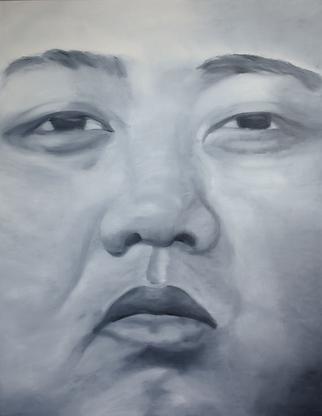 Kim_Jong-un_180_x_140_cm_Öl_auf_Leinwa