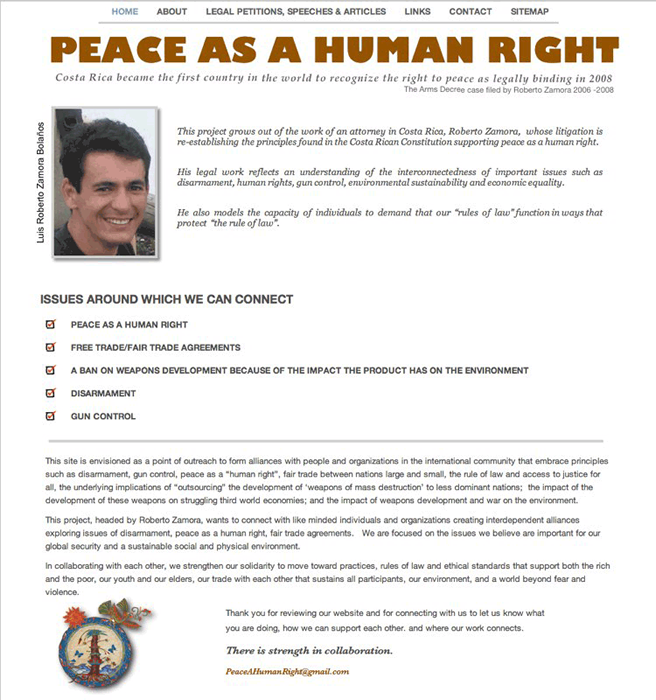 Peace As A Human Right