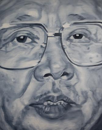 Kim_Jong-il_180_x_140_cm_Öl_auf_Leinwa