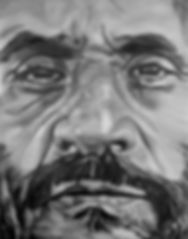 mahmud ahmadinedschad 180 x 140 cm öl auf leinwand