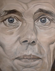 joseph beuys 180 x 140 cm öl auf leinwand