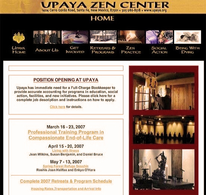 Upaya Zen Center