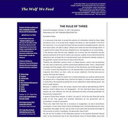 The Wolf We Feed
