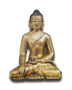 buddha_134_x_100_cm_oel_auf_ausgesägter_holzbrett