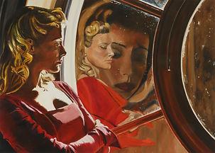 l reflexions 100 x 140 cm oil on canvas