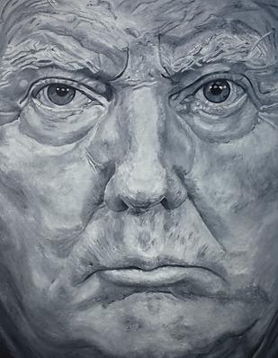Donald_Trump_180_x_140_cm_Öl_auf_Leinw