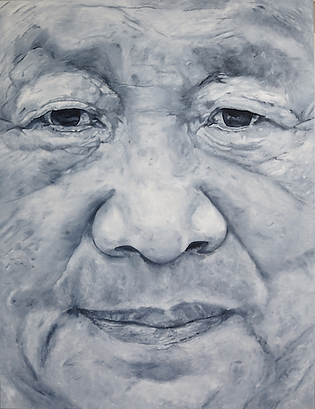 Xi Jinping 180 x 140 cm oil on canvas
