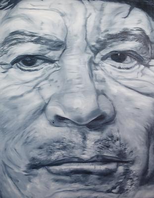 Muammar_al-Gaddafi_180_x_140_cm_Öl_auf