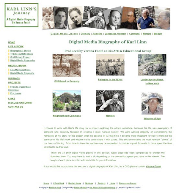 A Digital Media BiographyKarl Linn