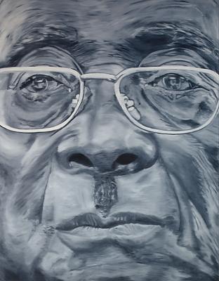 Robert_Mugabe_180_x_140_cm_Öl_auf_Lein