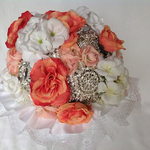 Romance Brooch Bouquet