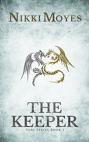 Book Cover - Cheriefox - The Keeper