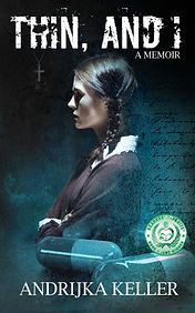 Book Cover - Cheriefox - Thin, And I