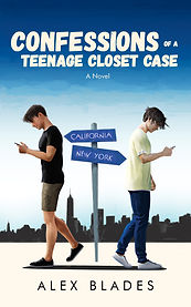 Book Cover - Cheriefox - Confessions of a Teenage Closet Case