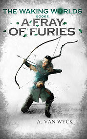 Book Cover - Cheriefox - A Fray of Furies