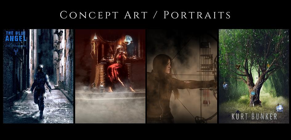 Concept Art / Portraits