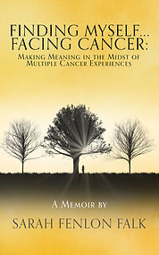 Book Cover - Cheriefox - Finding Myself... Facing Cancer