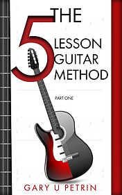 Book Cover - Cheriefox - The 5 Lesson Guitar Method