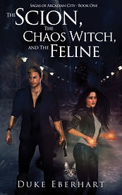 Book Cover - Cheriefox - The Scion, The Chaos Witch, and the Feline