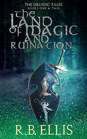 Book Cover - Cheriefox - The Land of Magic and Ruination