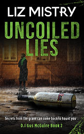 Book Cover - Cheriefox - Uncoiled Lies