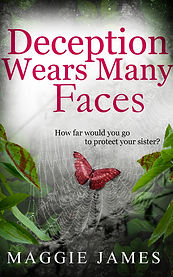 Book Cover - Cheriefox - Deception Wears Many Faces