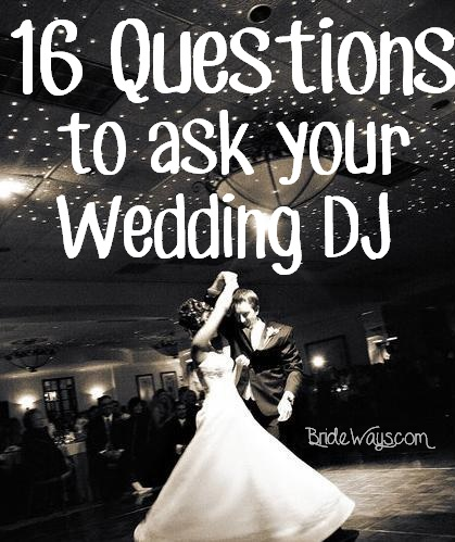 Questions To Ask Wedding Dj.16 Questions You Need To Ask Your Wedding Dj The Music Guys