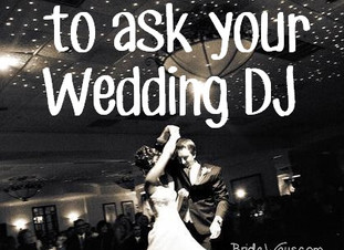 16 Questions You Need To Ask Your Wedding DJ