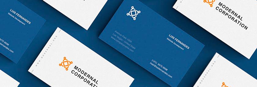 Tarjetas de presentación + Diseño