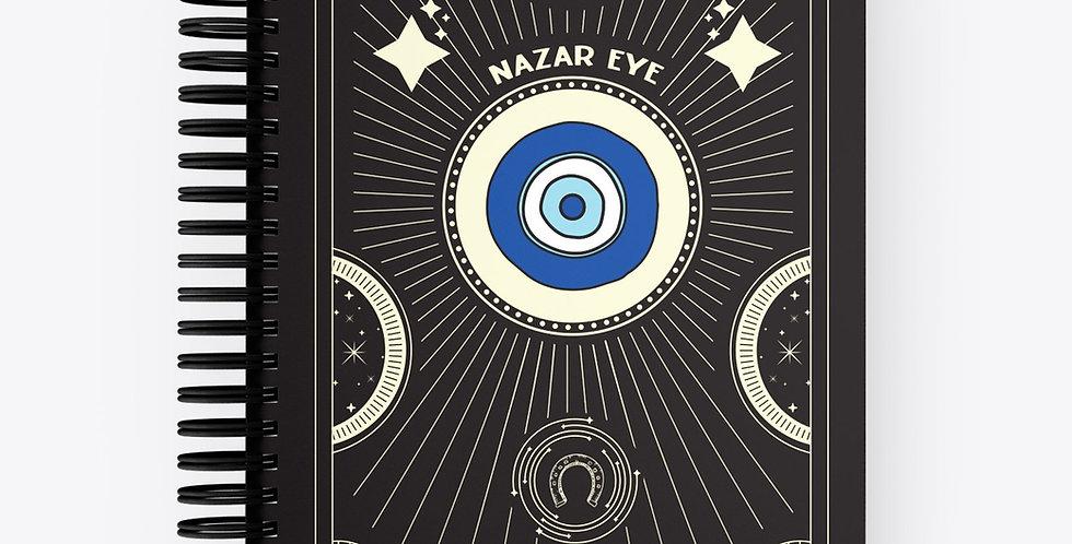 Lucky Notebook Nazar Eye