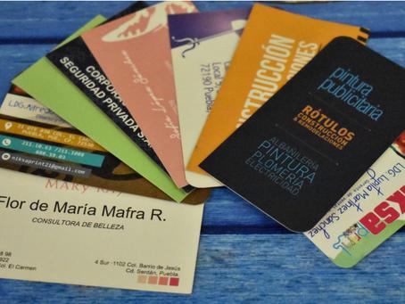 La gran importancia de las tarjetas de presentación
