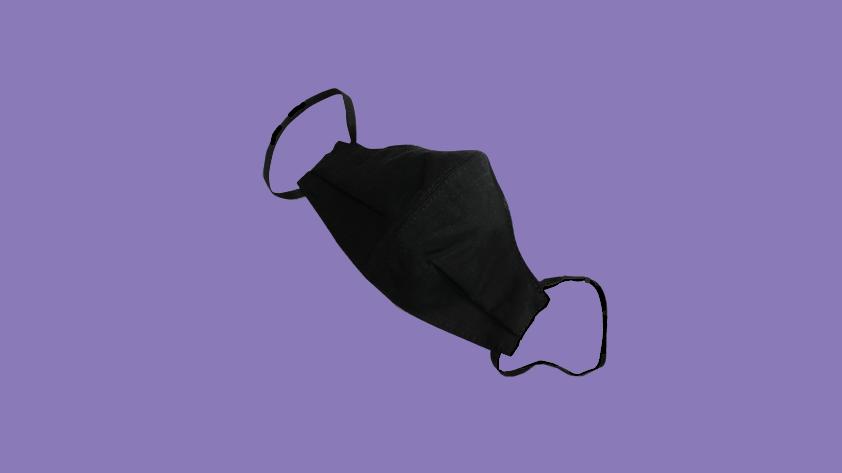 Elastic ear loop face mask