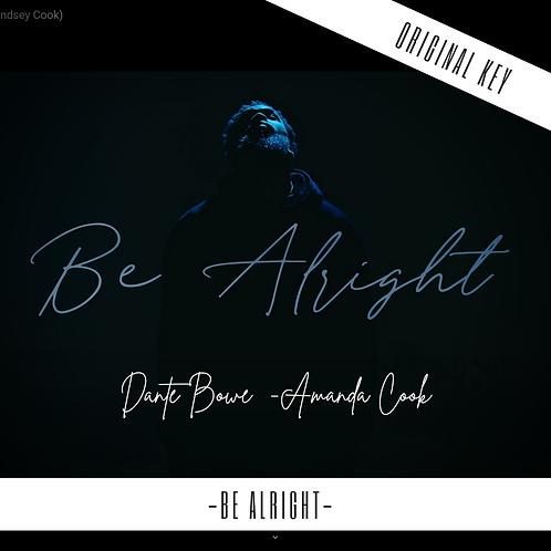 Be Alright - Dante Bowe (Feat. Amanda Lindsey Cook)