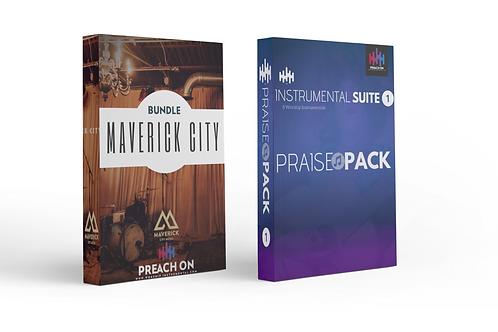 Praise Pack Vol. 1 and Maverick City Bundle