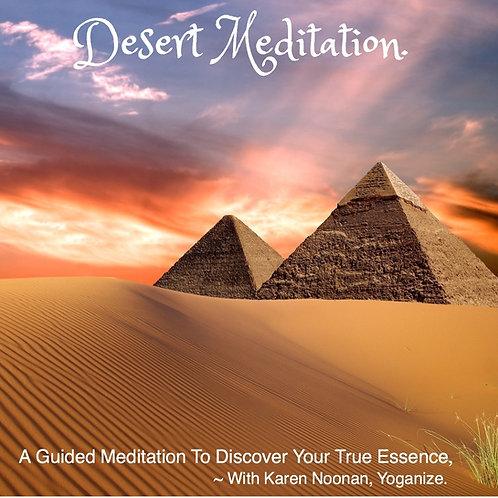 Desert Meditation with Karen Noonan, Ph.D.